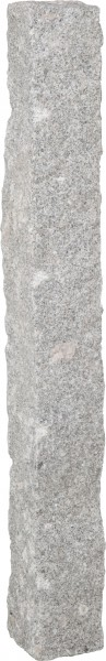 Palisade Granit hellgrau, 125 x 12 x 12 cm
