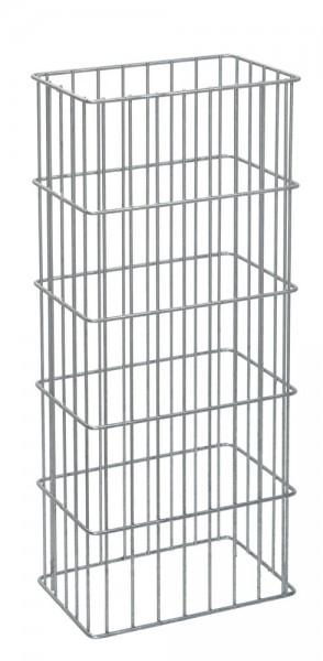 Gabionen-Säule RICA feuerverzinkt 2400x270x420 mm
