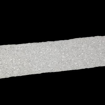Bord. und Leistenstein Granit grau, 100x25x8 cm gesp.