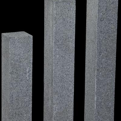 Palisade Granit anthrazit ges.,30 x 12 x 12 cm