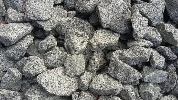 Schroppen Granit grau 50-150 mm