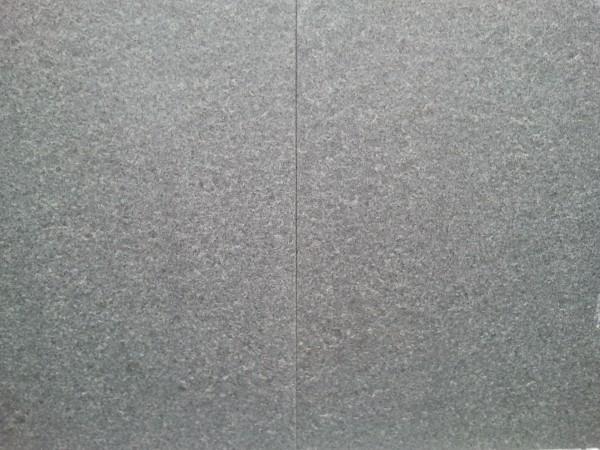 Terrassenplatten Granit anthrazit G654 40 x 40 x 3 cm