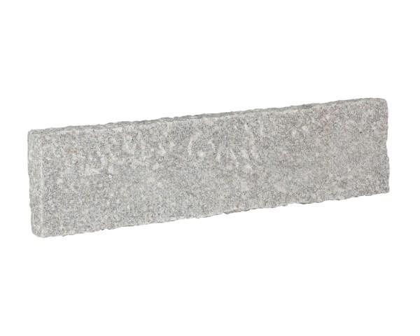 Bord. und Leistenstein Granit grau, 100x25x10 cm B6