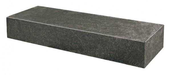 Blockstufe Asoluto schwarz 125 x 35 x 15 cm