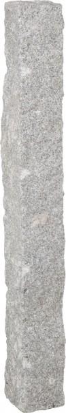 Palisade Granit hellgrau, 100 x 12 x 12 cm