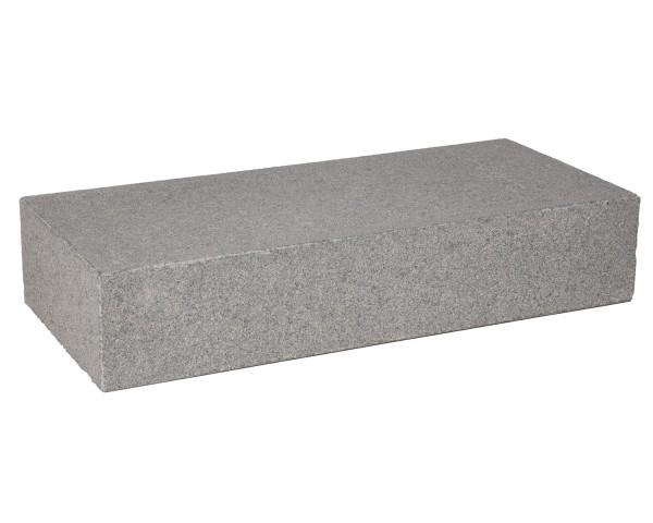 Blockstufe Granit anthrazit 125 x 35 x 15 cm