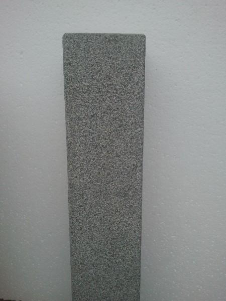 Palisade Granit anthrazit G654, 150 x 12 x 12 cm