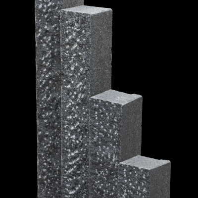 Palisade Asoluto, 50 x 12 x 12 cm