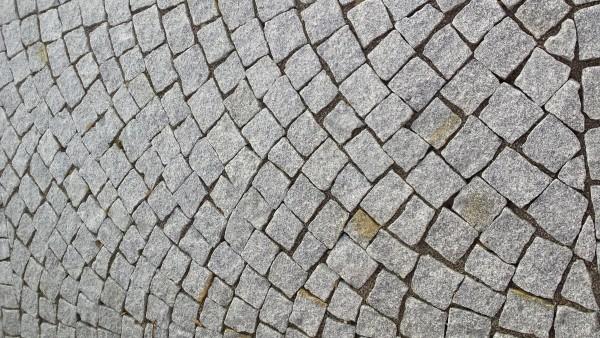 Pflastersteine Granit grau 8x11 cm