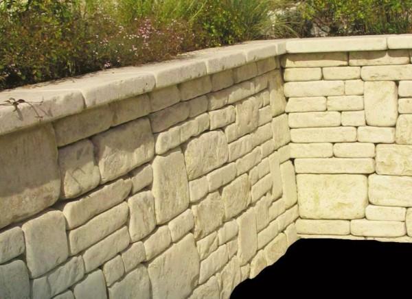 Mauerstein Jura Castellina Schichthöhe 15 cm