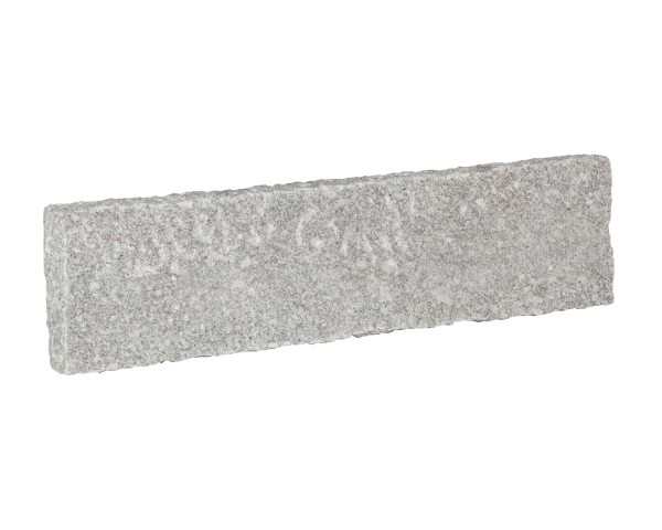Bord. und Leistenstein Granit grau, 100x20x8 cm B6