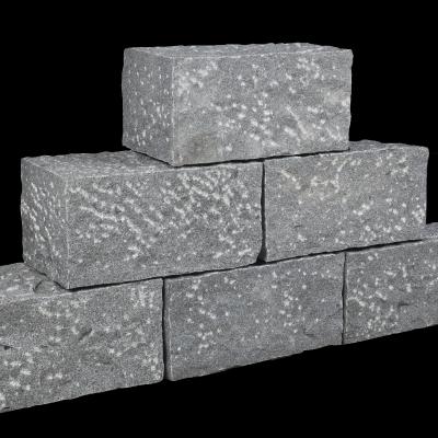Mauerstein Granit anthrazit, 35 x 15 x 17,5 cm