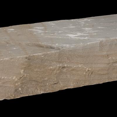 Blockstufe Sandstein Toscana gespalten