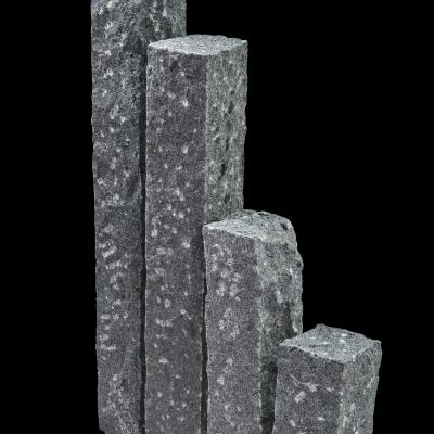 Palisade Granit anthrazit, 100 x 12 x 12 cm