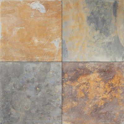 Terrassenplatten Schiefer Multicolor 60x 60x2,5 cm