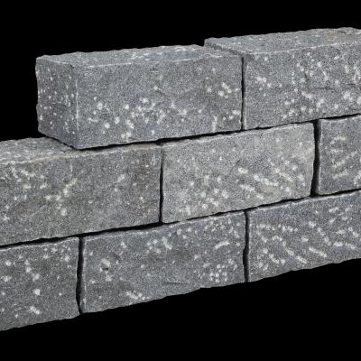 Mauerstein Granit anthrazit, 40x20x20 cm