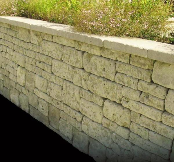 Mauerstein Dolomit Castellina Schichthöhe 15 cm