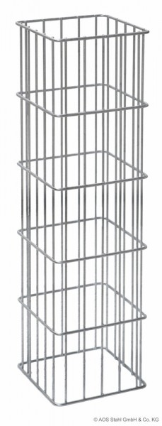 Gabionen-Säule RICA feuerverzinkt 2000x270x270 mm