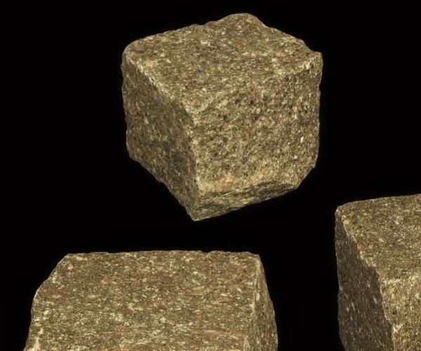 Pflastersteine Porphyr 4x6 cm