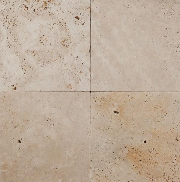 Terrassenplatten Travertin Classic 20 x 20 x 3 cm