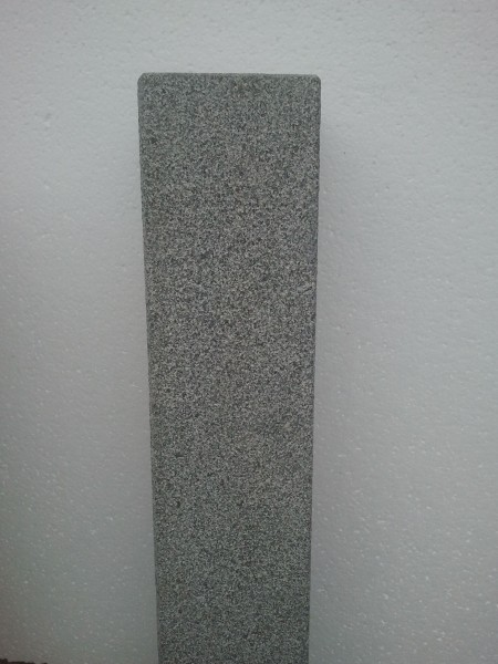 Palisade Granit anthrazit G654, 125 x 12 x 12 cm