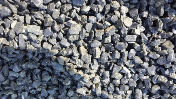 Ziersplitt Basalt schwarz 8-16 mm im Big Bag